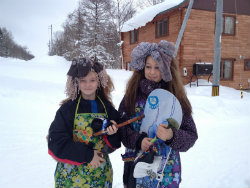 Best costumes, tobogganing 2014